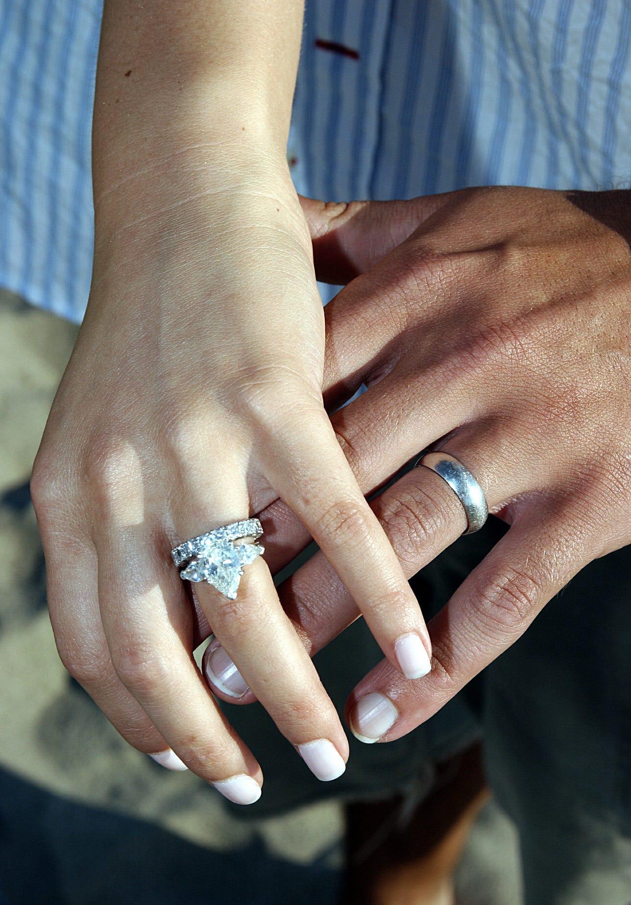 average wedding ring price