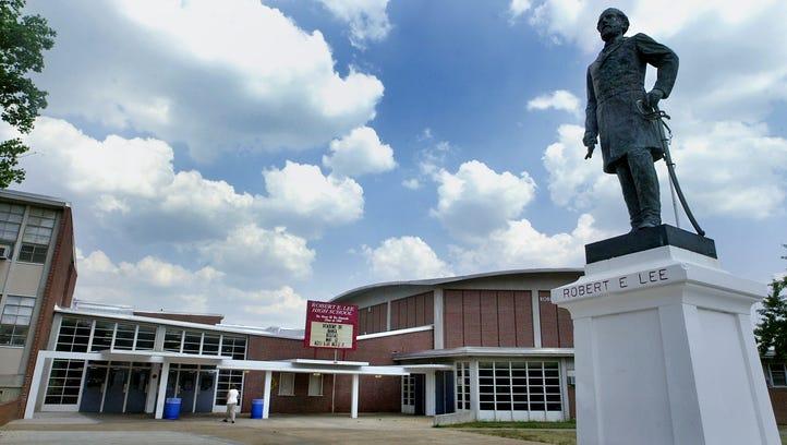 The 2017 Class of the Robert E. Lee High School Hall