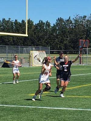 Senior Hannah Young tallied one goal, five ground balls and caused two turnovers in Saturday's match.