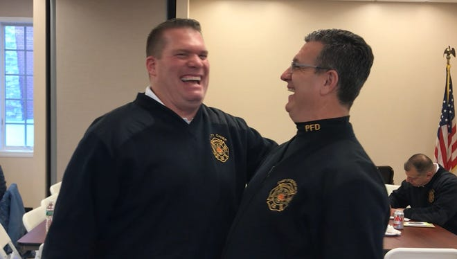 Paterson Fire Chief Brian McDermott, left, is helping launch the department's most ambitious recruitment drive in more than 10 years.