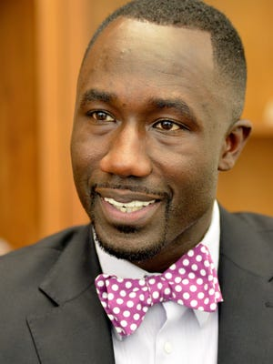 File photo of Jackson Mayor Tony Yarber from when he had been in office 100 days.