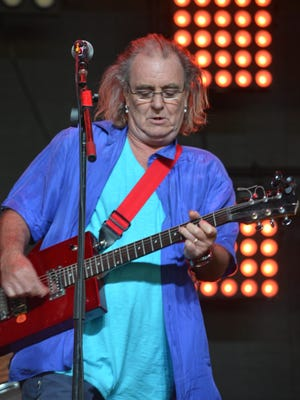 Terry Reid makes a guest apperance during Little Red Spiders performance in the Mojave tent at the Coachella Music and Arts Festival on Sunday, April 12, 2015.