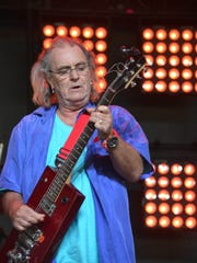 Terry Reid, seen sitting in with the Little Red Spiders