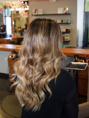 Ecaille is often described as a sophisticated version of ombre.