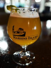 Harsens Island Brewery, in Marysville, is slated to open in the next month. The brewery had a soft opening Thursday night for the Marsyville Business Council networking event.