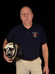 Burtchville Fire Chief Mark Harrington