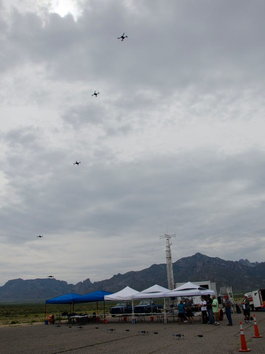 Drones at White Sands Missile Range
