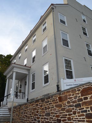 The Sheppard House, 31 W. Commerce St., Bridgeton is one example of a restored historic structure. It now houses The Cousteau Center, a partner facility of the Jacques Cousteau National Estuarine Research Reserve managed by Rutgers University.