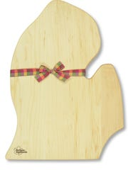 The Lower Peninsula as a cutting board!
