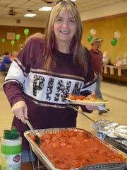Darlene Klawitter of Millville was among those attending a fundraiser for Dorothy Farrell, also of Millville.