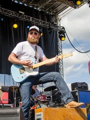 The Turnpike Troubadours performing on the main stage
