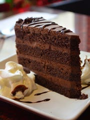Save room for this fabulous chocolate cake at Yen Ching.