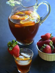 Infused with orange and strawberry, this tea is a crowd