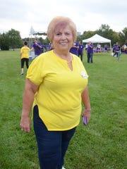 Paramus councilwoman Jeanne Weber at the annual Pancreatic