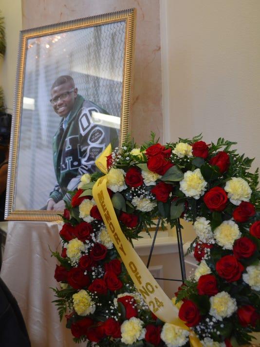 Robert Grays funeral