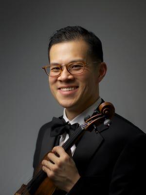 Montclair Orchestra Music Director David Chan.