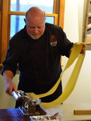 Chef Craig von Foerster demonstrates how to make homemade