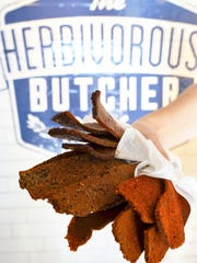 A selection of The Herbivorous Butcher's jerky, made