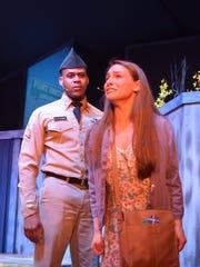 Luther Raphael Simon as Flick and Mahalia Greenway