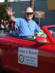Fourth District Supervisor John Benoit at the 23rd