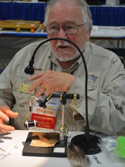 Jim Ferguson of Salem is scheduled to be among the 200-plus tyers from pros to talented amateurs from as far away as New York and Florida to teach fly patterns large and small at the Northwest Fly Tyer & Fly Fishing Expo in Albany