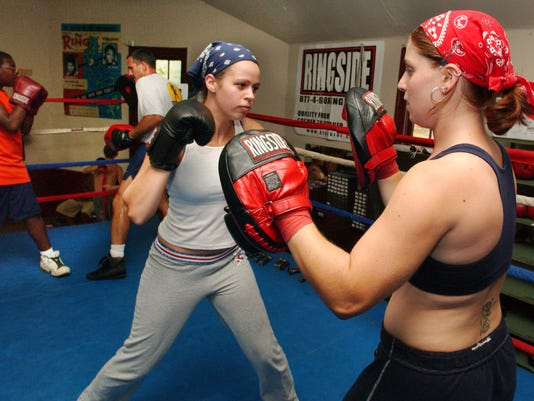 Woman Boxers