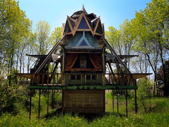 """A structure known as """"The Shrine"""" located in rural"""