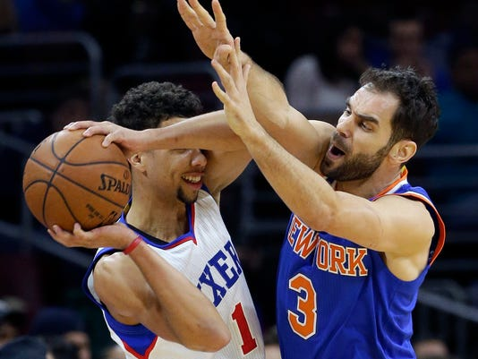 Michael Carter-Williams, Jose Calderon