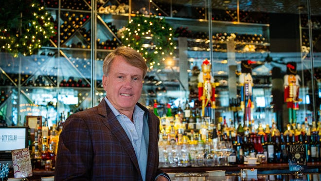 Big Time Restaurant Group partner Todd Herbst at City Cellar, a West Palm Beach restaurant that has been in business for 20 years.