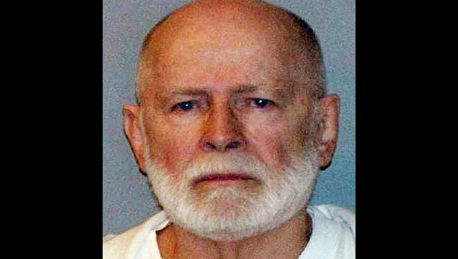 "This June 23, 2011 booking file photo provided by the U.S. Marshals Service shows gangster  James ""Whitey"" Bulger."