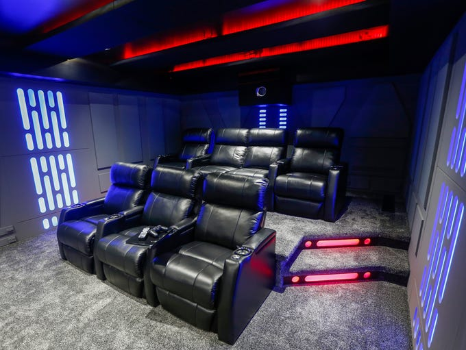 """Patrick Williams designed a """"Star Wars""""-themed home"""