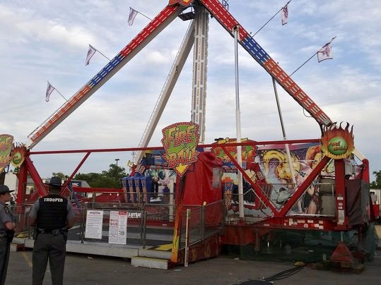 Ohio State Fair Ride Malfunction