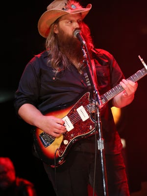 Chris Stapleton in concert at Ascend Amphitheater on Friday, October 14, 2016.