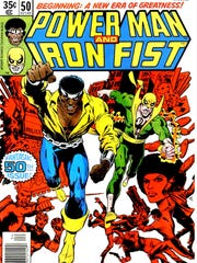 """Power Man and Iron Fist"" debuted in 1978, combining"