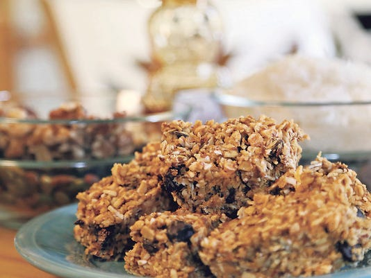 Healthy energy bars