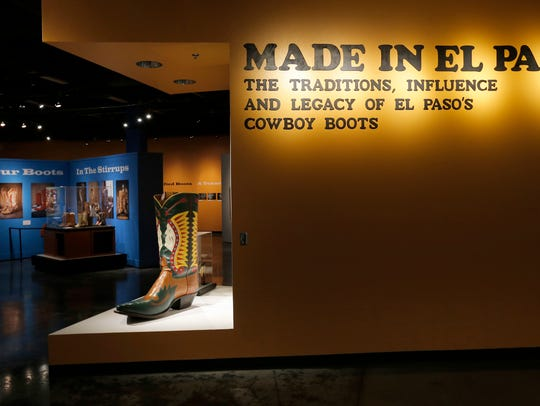 The El Paso Museum of History is featuring an exhibit