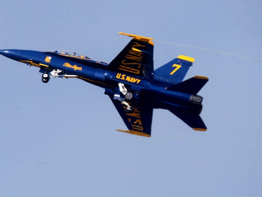 Blue Angels Schedule 2019 >> Blue Angels schedule: A look at the 2018 schedule, return to Smyrna