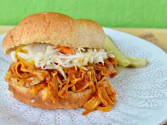 Jackfruit Barbecue Sandwich