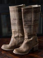 Amanda Hiner's Freebird Steve Madden boots. Sept. 13,
