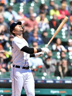 Nick Castellanos has been named AL player of the week for Aug. 13-19