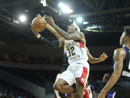 Craig Sword scored 10 points in Erie's G League playoff win.