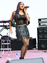 Cindy Herron of En Vogue performs during opening night