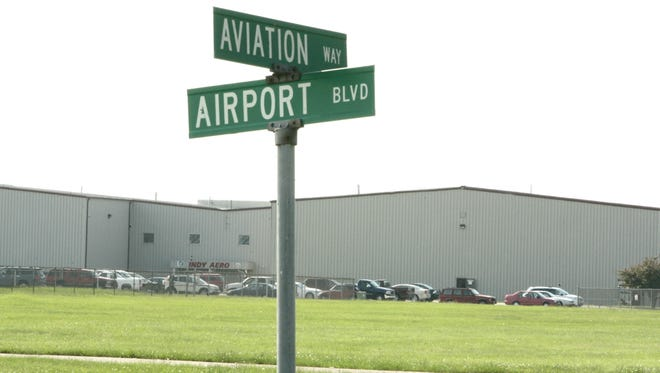 Indianapolis Regional Airport in Greenfield.