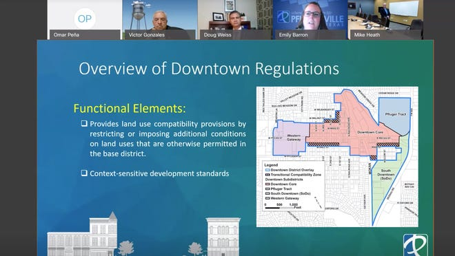 The Pflugerville City Council on Oct. 13 approved amendments to the downtown codes on a first ordinance reading, with a second and final public hearing scheduled for Oct. 27 on the proposed amendments.