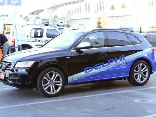 Delphi's self-driving car