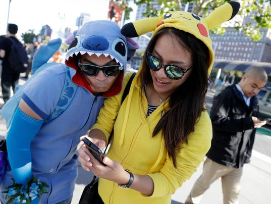 AP POKEMON GO SAN FRANCISCO A ENT USA CA