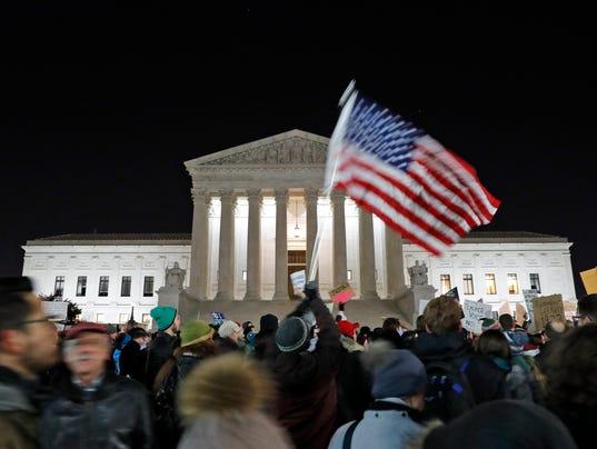 AP TRUMP'S WASHINGTON A USA DC