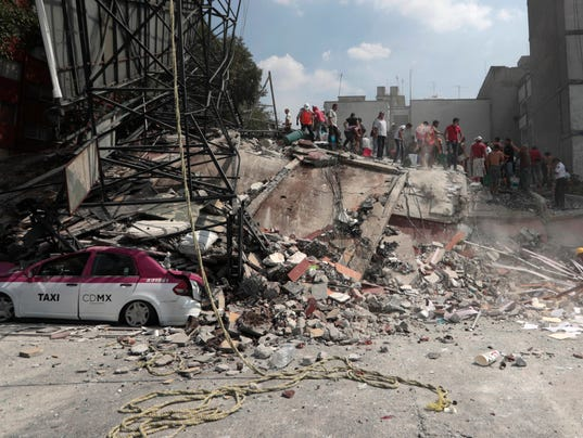 AP MEXICO EARTHQUAKE I MEX