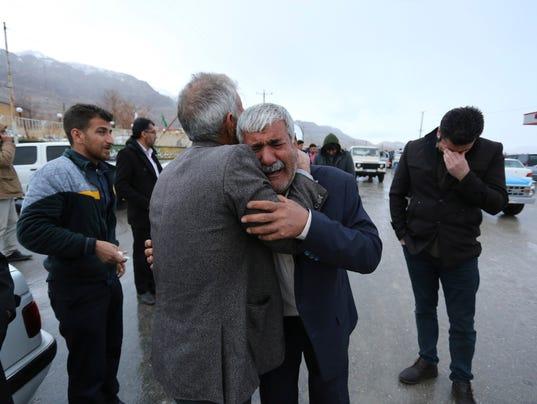 AP IRAN PLANE CRASH I IRN
