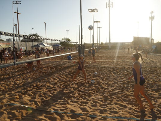 beach volleyball state championships